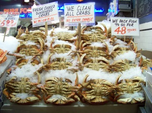 crabs, pike's market