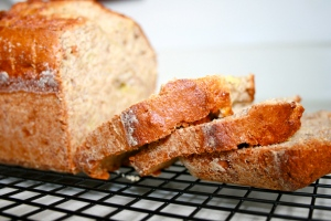 banana applesauce bread