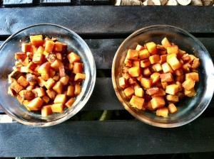 sweet potato, breakfast, hash browns, breakfast potatoes